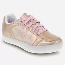 Airwalk Kids' Jazz Low-Top Sneaker Skate Board Rose Gold Sz2