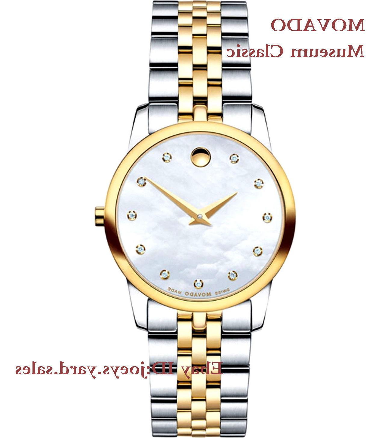 0606613 two tone watch