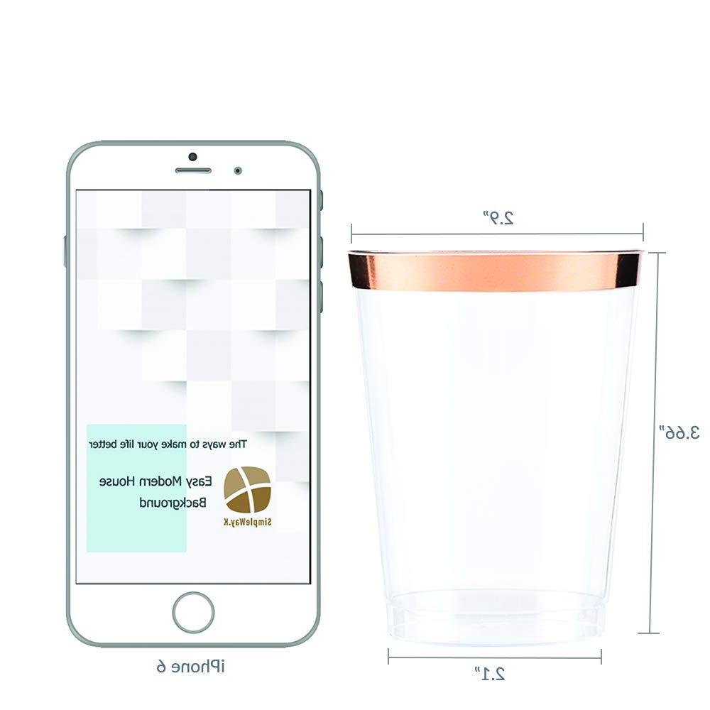 10 oz rim pack clear Tumbler, cup