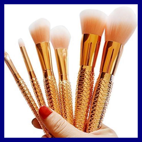 Coshine ROSE GOLD Unique Mermaid Brush Set