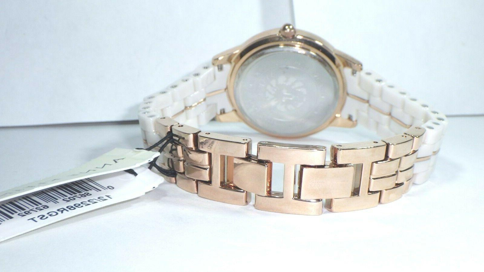 Anne Klein Rose Gold Watch &