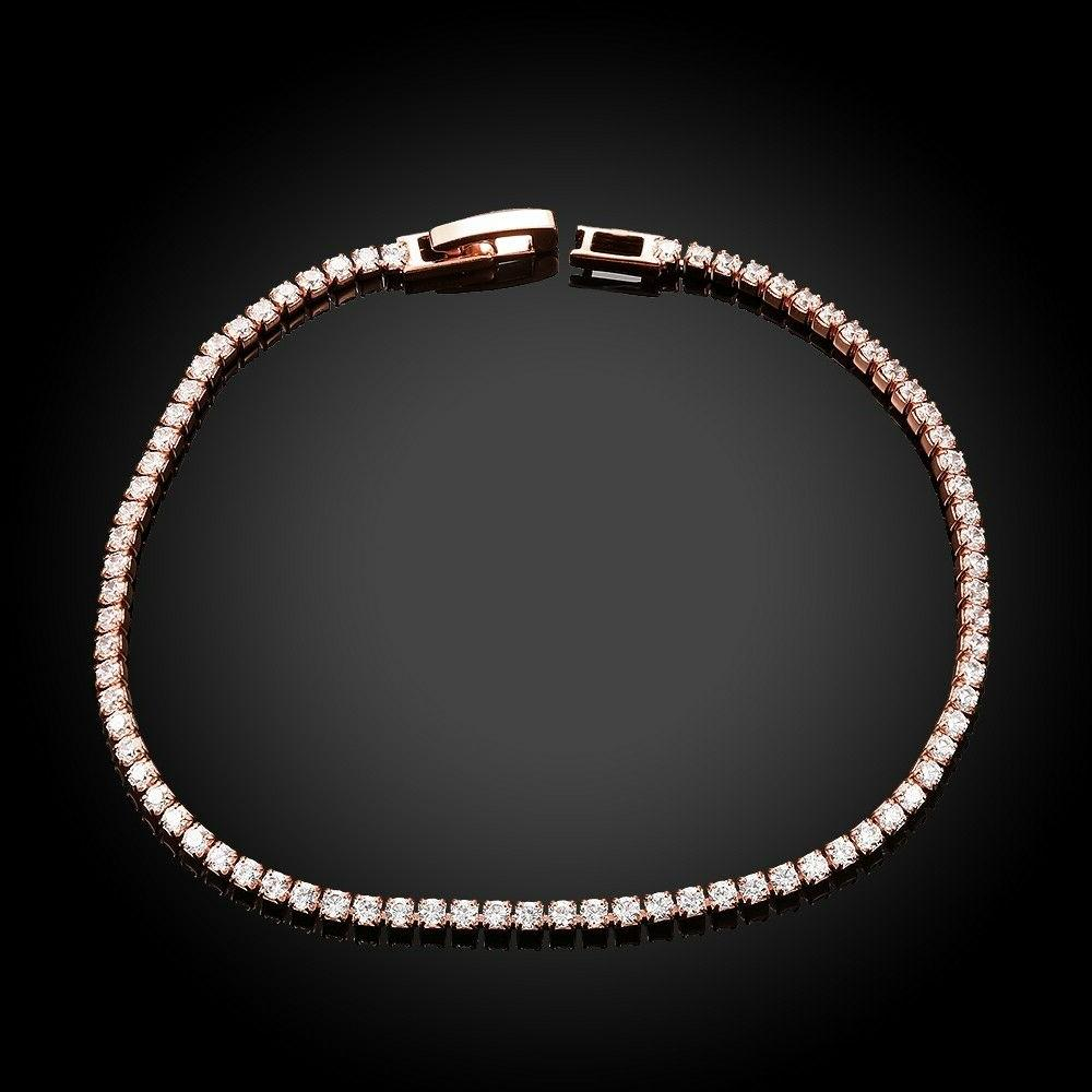 Cubic Rose Gold Plated