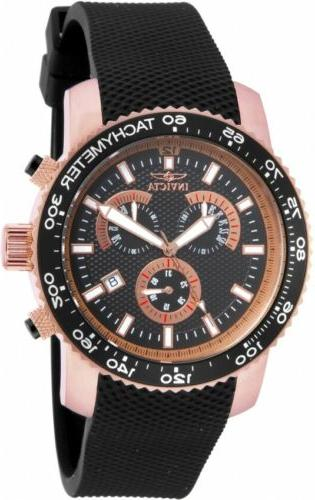 17775 specialty men s chronograph 45mm rose