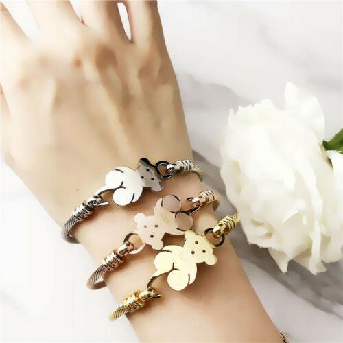 1pc fashion women s stainless steel cute