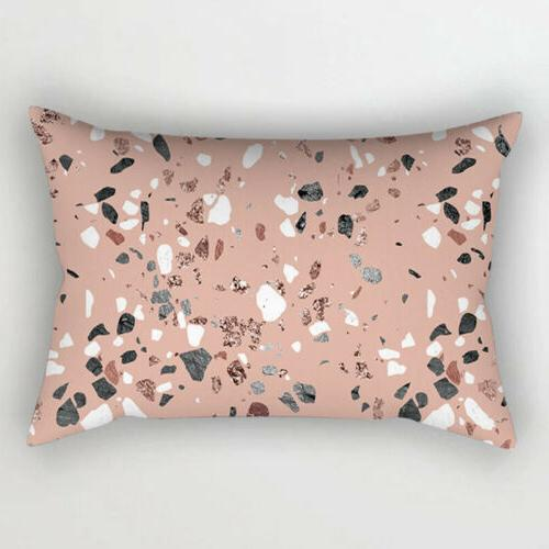 1PC Cushion Case Bedroom Rose Gold