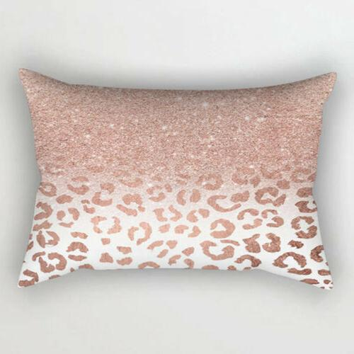 1PC Pillow Cushion Bedroom Car Gold Tone