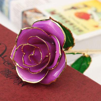 24K Gold Flower Stem Mother's Day For