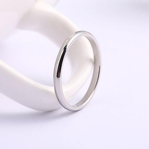2MM Gold/Silver/Gold/Black Steel Wedding Band