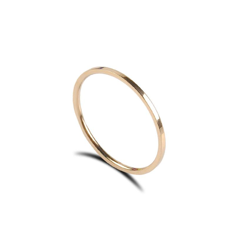 2mm Plated Ring Men/Women's Band Sz3-10