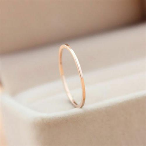 2mm Round Gold Plated Ring Wedding Band Rings Sz3-10