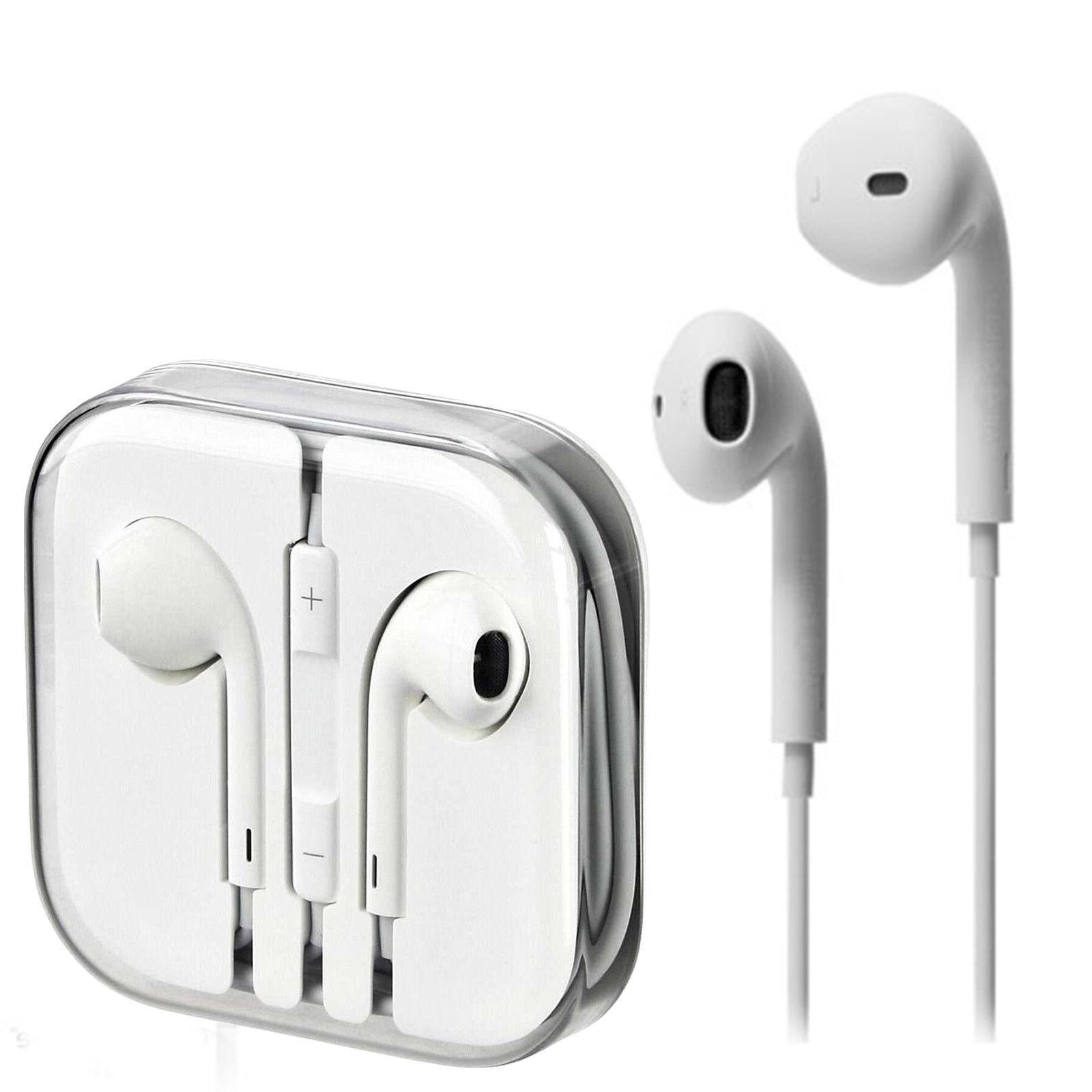 3.5mm Earbuds Headsets iPhone Samsung