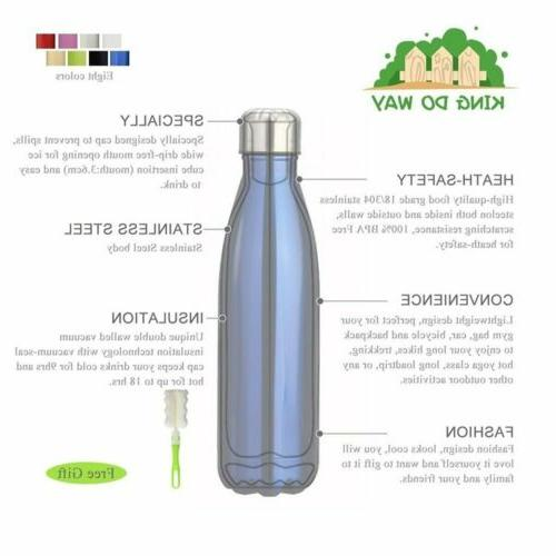 350/500/1000ML Water Bottle Steel Leak Flask Thermoses for