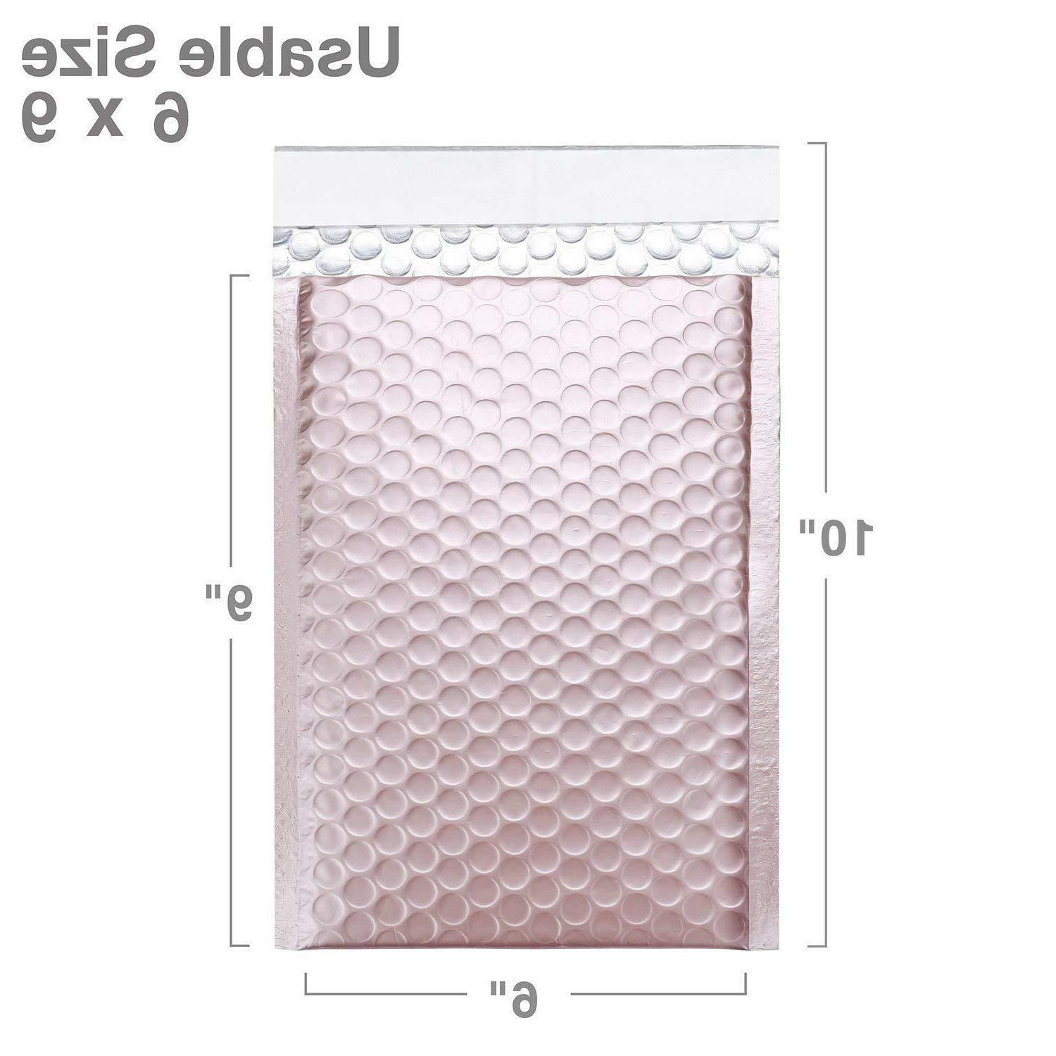 50 #0 Rose Mailers 6x10 Wide