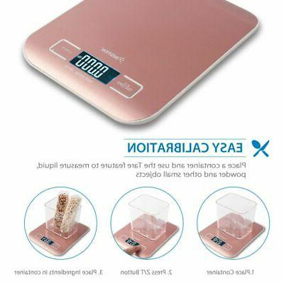 5000g X 1 g LCD Electronic Kitchen Food Scale -