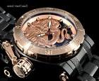 Invicta 52MM Coalition Forces ROSE GOLD Dragon AUTOMATIC BLA