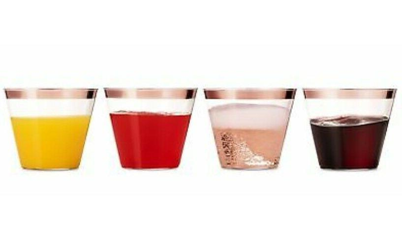 60 Oz Clear Old Tumblers Rim Party