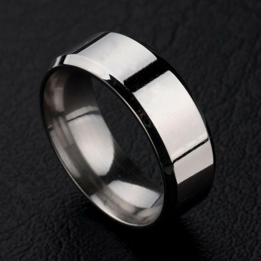 8MM Womens Ring Band