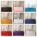 """90""""x132"""" Sequin Tablecloth Rectangle Tablecloth Sequin Table"""