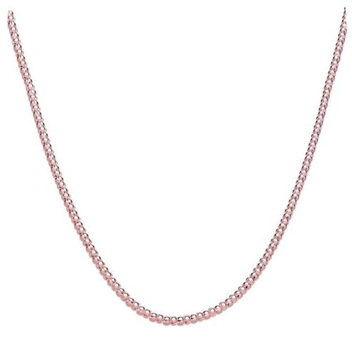 .925 Sterling Gold Chain 2mm w/Lobster Clasp In -