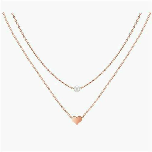 925 sterling silver rose gold two layers