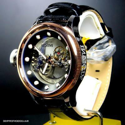 Invicta Russian Bridge Automatic Rose Plated 52mm Watch