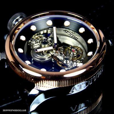 Invicta Russian Ghost Bridge Automatic Plated