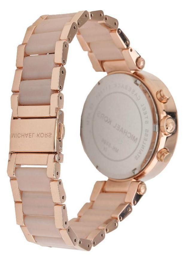 New Rose Blush Watch for Women Blush Crystal