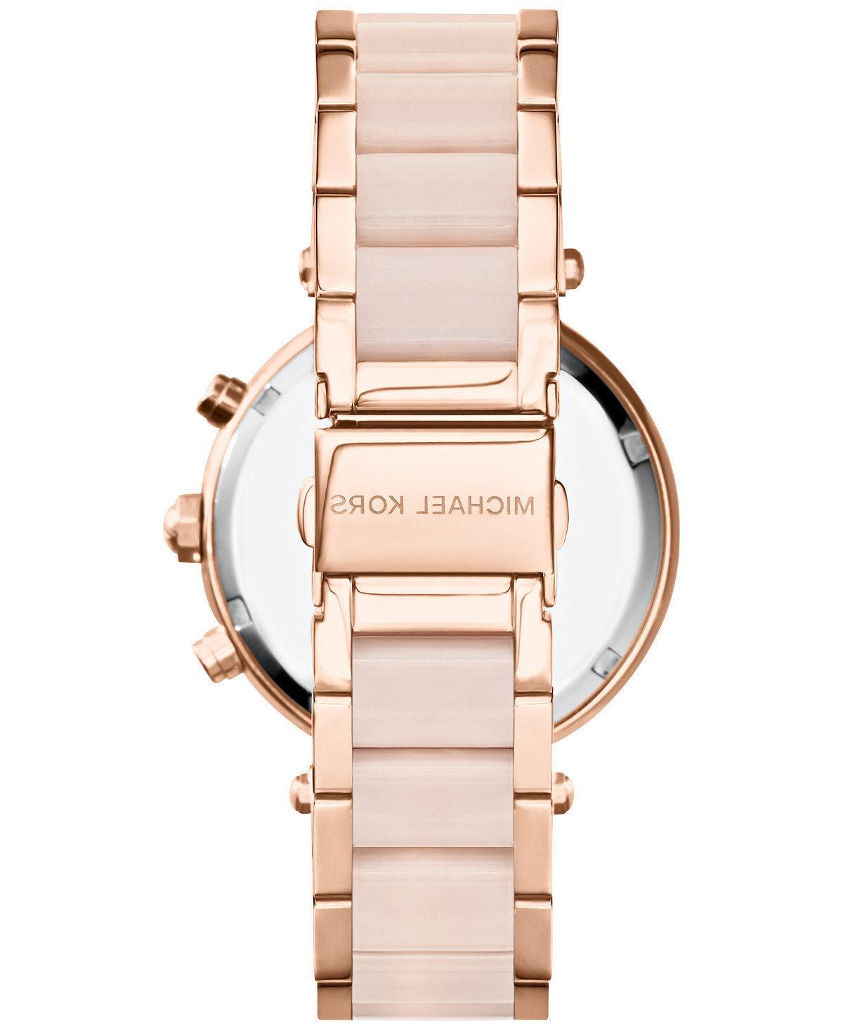 New Kors Rose Blush Watch Blush Crystal