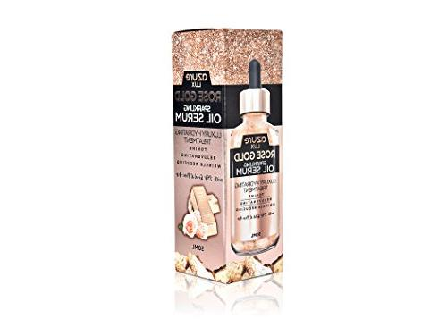 Rosehip and 24K Gold Anti Wrinkle Oil Serum – Fine Scar Reducing and Tones 50ml
