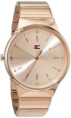 Tommy Hilfiger Original 1781799 Women's Rose Gold Stainless