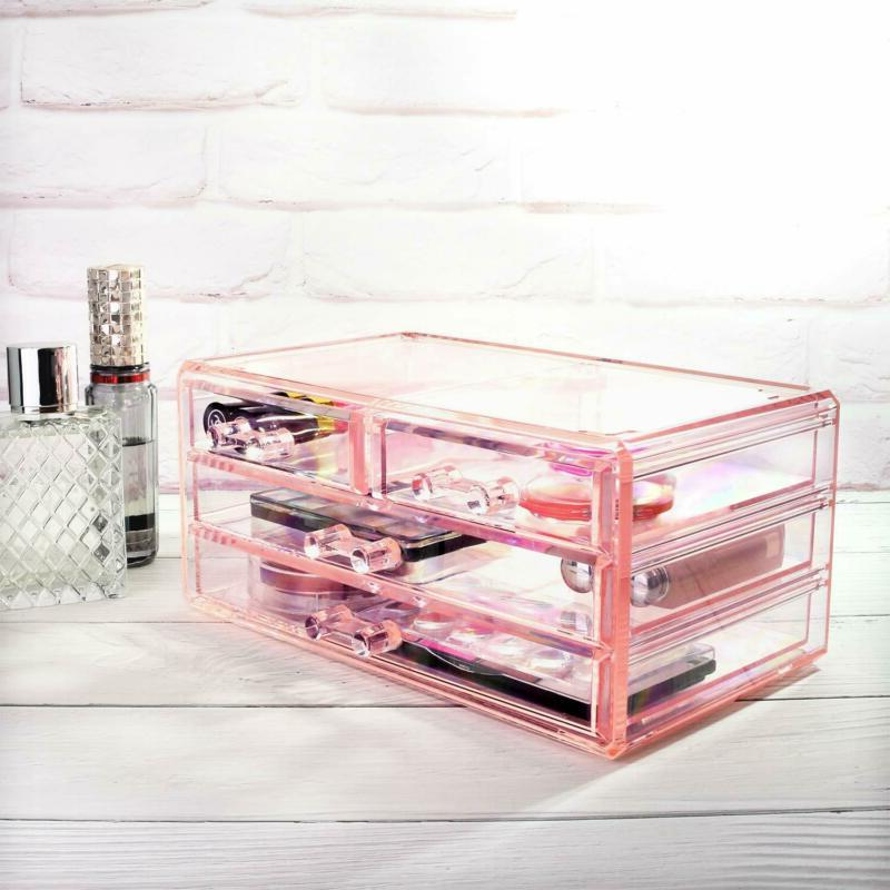 Ikee Design Acrylic Jewelry & Display Boxes Pieces Set