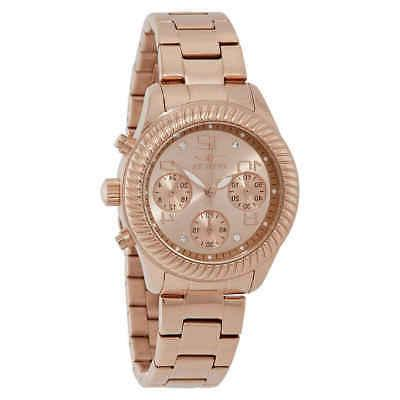 angel chronograph rose gold dial