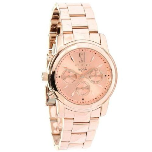 angel rose dial gold ion