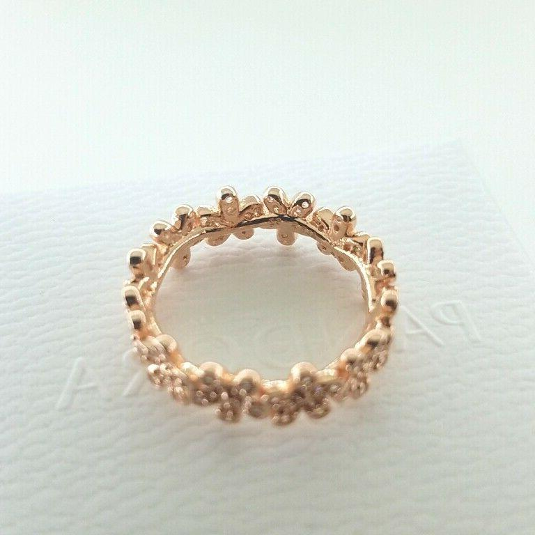 Pandora Authentic Gold - Meadow Ring w/Box