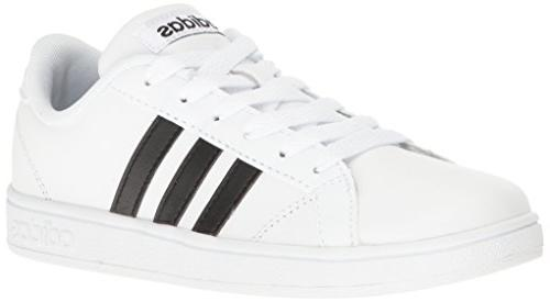 Adidas Kids' Baseline Fashion Sneaker PreGrade School Shoes