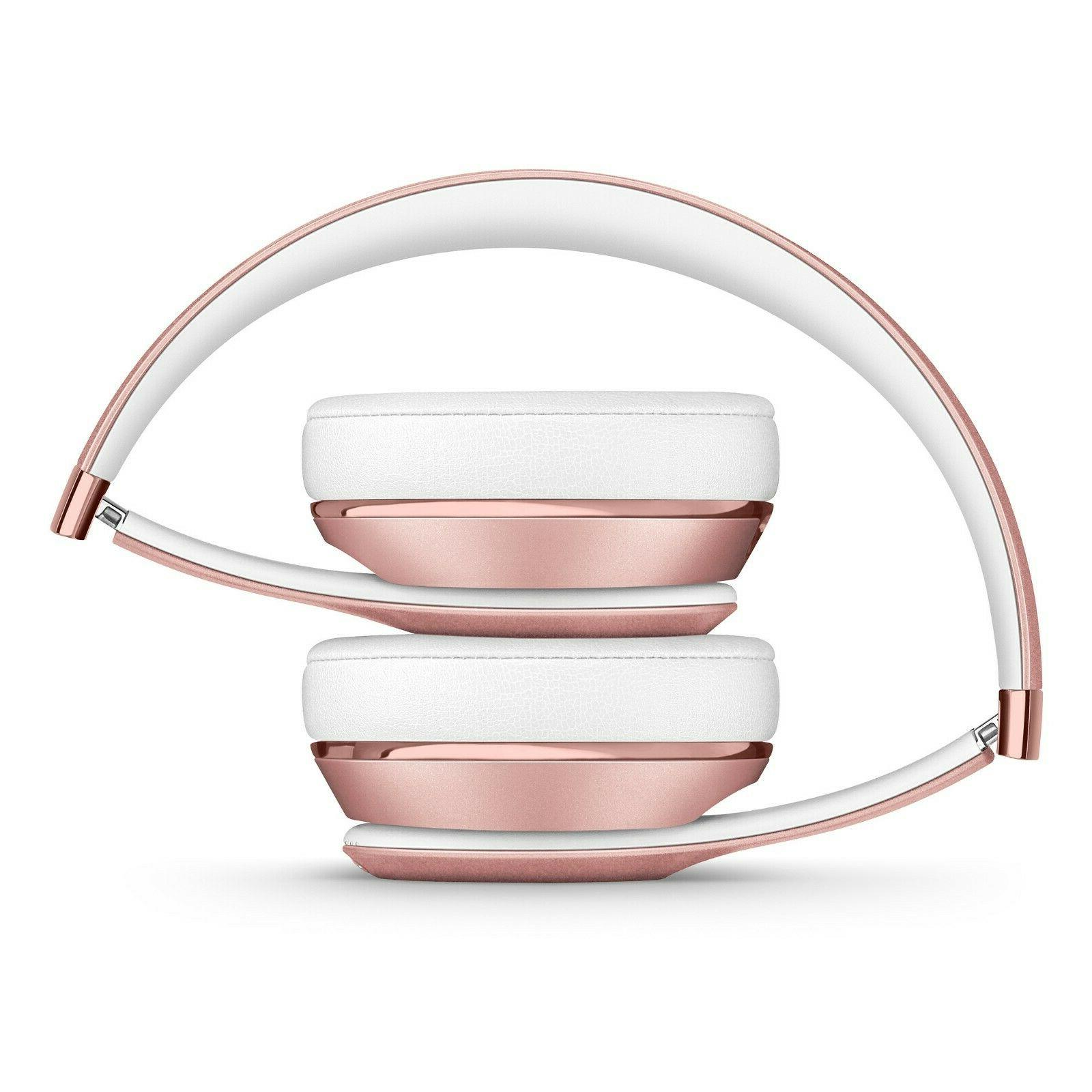 Solo3 Headphones - Rose Gold Pink