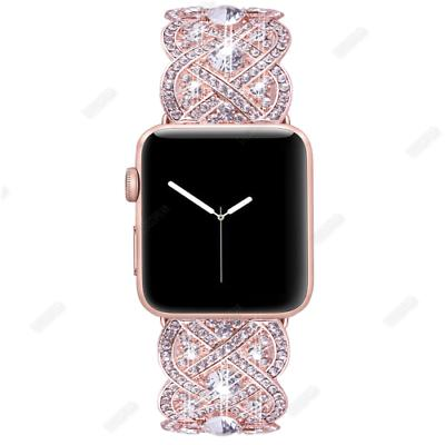 Bling Diamond Band Strap for Apple Series 2 38/40/42/44mm