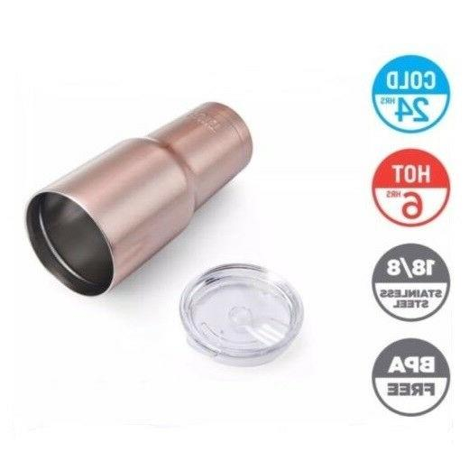 Built Double Stainless Steel/Rose Insulated Tumbler