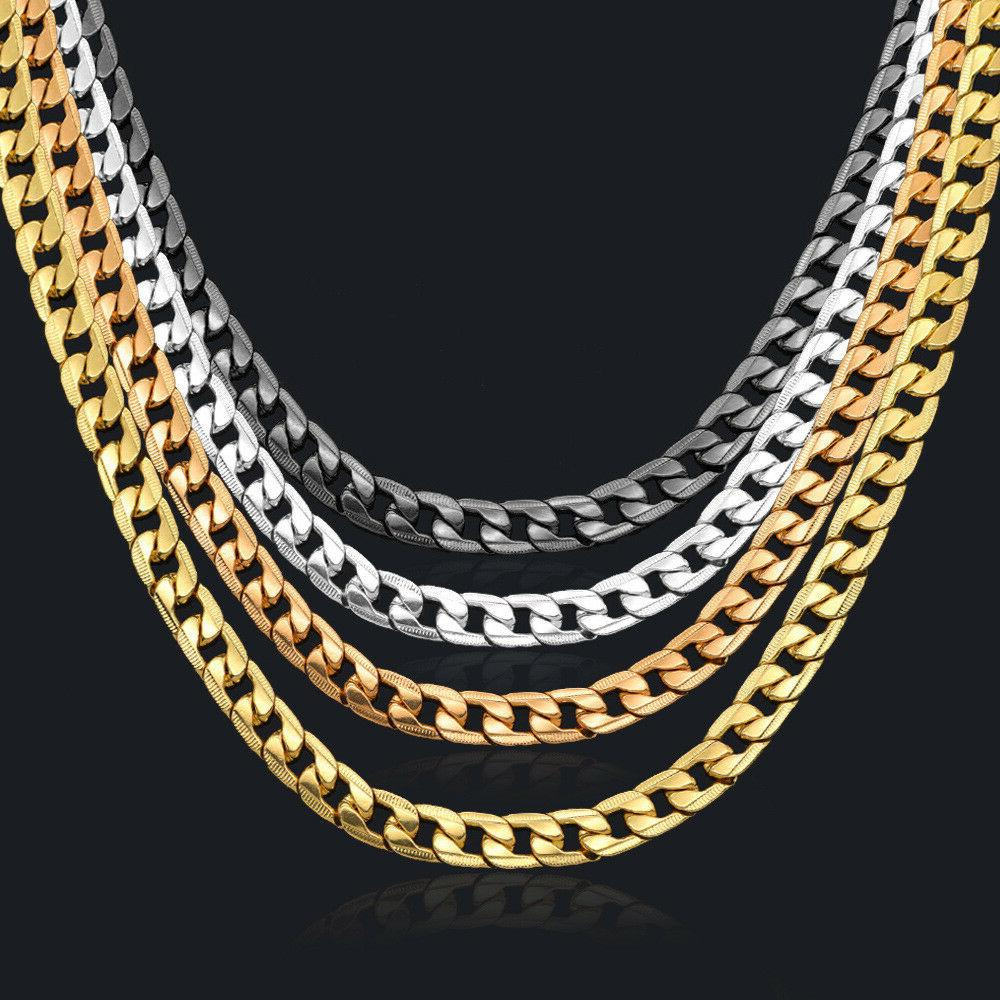 curb chain necklace for men 24 10mm