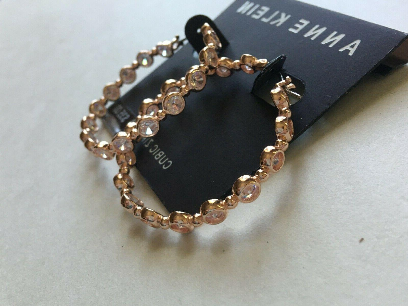 Anne Klein $35 Rose Gold Tone Over Stock