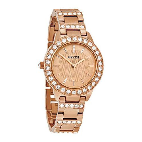 Fossil Stainless Steel Dress Color:Rose