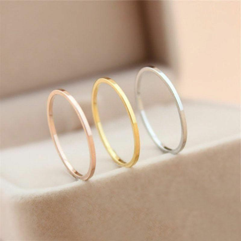 Extremely Steel Men/Women's Wedding Gold Size