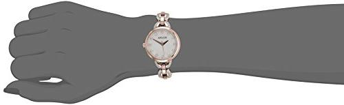Bulova Facets Crystal Accent Rose Steel Watch 98L207