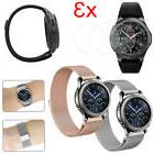 Samsung Gear S3 Classic / S3 Frontier Steel Bands Band Brace
