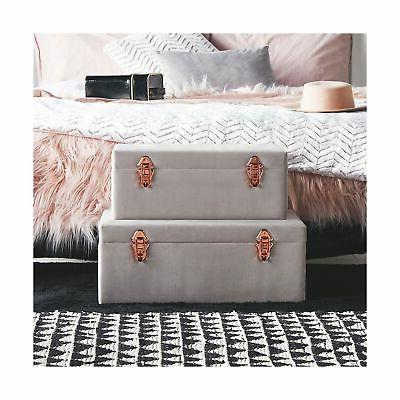 Beautify Storage Trunk with Rose Gold Col...