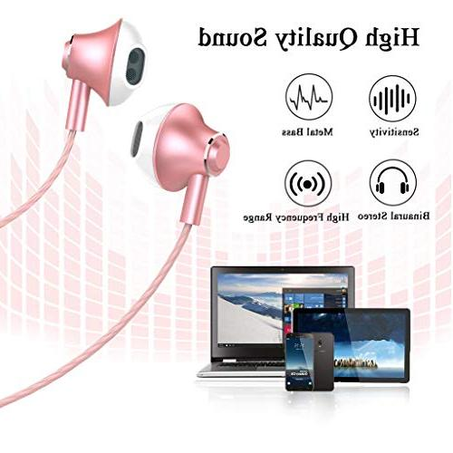 in-Ear Earbuds Headphones and Control Bass Stereo Headset 3.5 mm Samsung