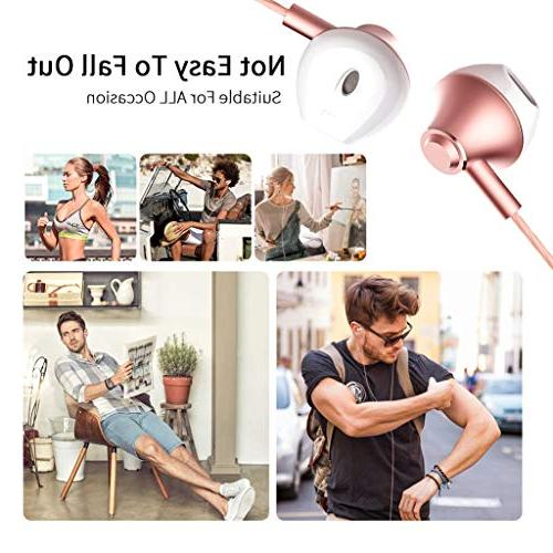 Headphones with and 3.5 mm Samsung iPhone