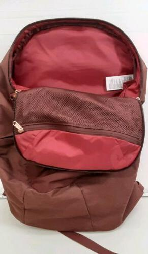 The Isabella Backpack rose gold pulls comfortable #E357
