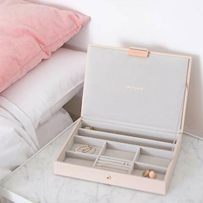 """Jewelry Trays Stackers Pink Classic """""""