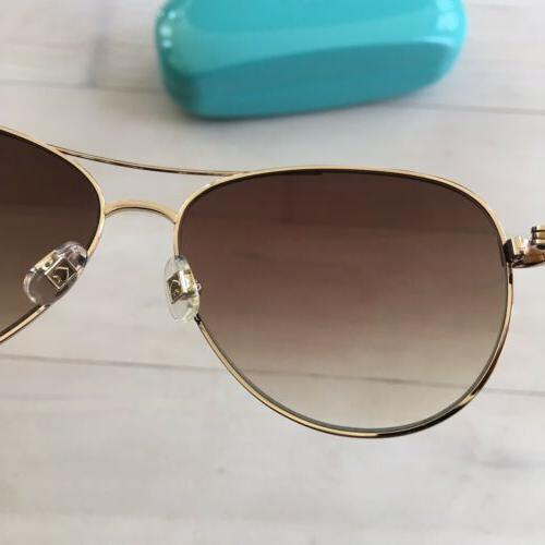 Kate 58mm Aviator Gold 0AU2-Y6 Women's